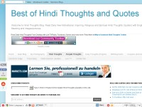 Best of Hindi Thoughts and Quotes