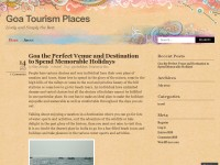 Goa Tourism Places
