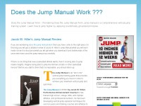 Does the Jump Manual Work ???