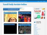 Tamil TV Daily Serials Online