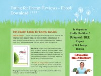 Eating for Energy Reviews - Ebook Download ????