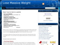 Lose Massive Weight