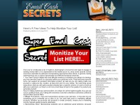 Email Cash Secrets