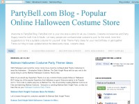 PartyBell Blog  Popular Halloween costumes