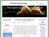 The Spirit of the Scripture