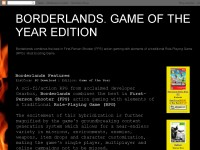 BORDERLANDS. GAME OF THE YEAR EDITION