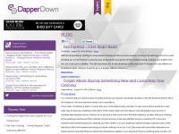 DapperDown App Blog