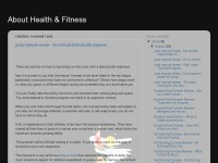 About Health & Fitness