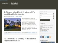 St Simons Real Estate & Coastal GA Sea Island Buzz