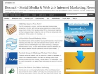 Bosmol social media news / web 2.0 internet market