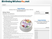 Birthday Wishes - Happy Birthday Quotes