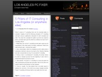 Los Angeles Computer Repair Services Info Blog