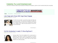 Celebrity Fun and Entertainment