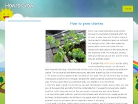 Learn how to grow vegetables