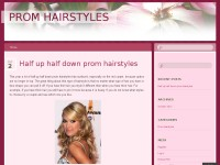 2012 prom hairstyles