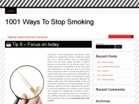 1001 Ways To Stop Smoking