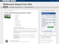 Airport car rental melbourne