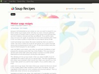 Finding the best soup recipes