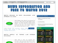 News Information and Free to Watch 2012
