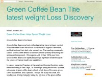 Green Coffee Bean The latest weight Loss Discovery