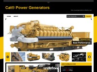 Cat® Power Generators