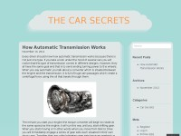 Only car secrets