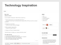 Technology Inspiration
