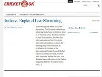 Live Cricket | Online Streaming | live.cricketok