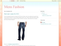 Details for men fashion site