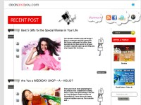 The official blogs of the best deals website in In