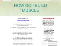 How Do I Build Muscle