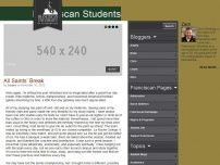 Franciscan University Student Blogs