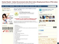 Sarkari Naukri Online - Indian Government Jobs