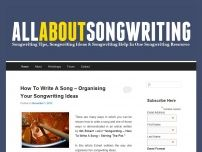 All About Songwriting