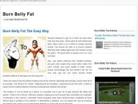 Burn Belly Fat | AgeFat.com