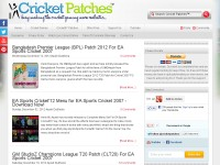 Cricket Patches -  Cricket Games and More