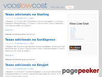 Voos Low Cost