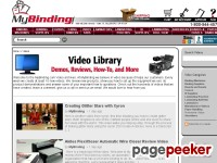 MyBinding.com Videos – Demo, Review, How to