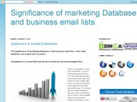 Marketing Database | Business email List