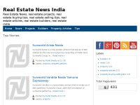 Real Estate News India Property News