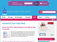 Awesome Kids Apps - Best Education Apps Blog