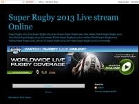 Super Rugby 2013 Live stream Online