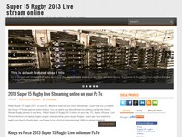 Super 15 Rugby 2013 Live stream online TV