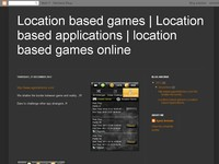 Location based games | Location based applications
