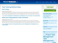 Task Tracking Software