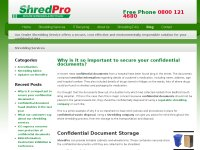 ShredPro Shredding Blog | Onsite Paper Shredding S