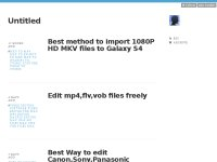 Convert/import MKV files to iPad Mini