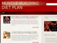 Muscle Building Diet Plan!