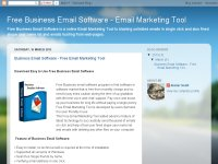Free business email software