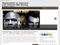 Mayweather vs Guerrero Live Stream HBO Boxing PPV